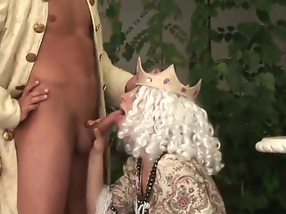 creampie blonde blowjob